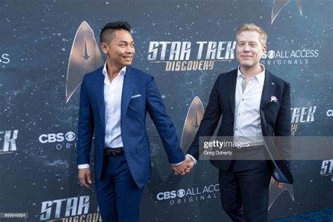 Anthony Rapp with boyfriend, Ken Ithiphol arrive for the