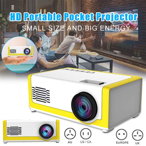 Mini LED Projector High definition LCD Portable Mobile