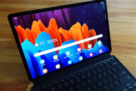 The Samsung Galaxy Tab S7+ delivers iPad Pro-level