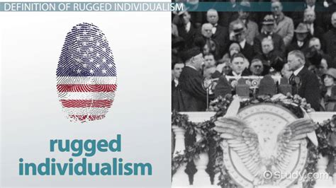 Rugged Individualism and Hoover: Definition and Speech