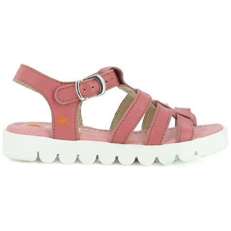 A326 Junior Agora Rose, Leather upper sandal - Kids from