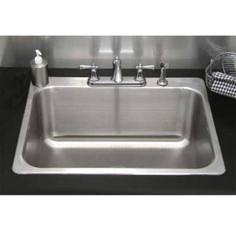 """Residential Drop-in Laundry Sink - 24""""L x 18""""W x 14""""D (no"""