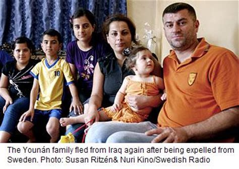 Assyrian Refugees Expelled From Sweden -- Fleeing Again