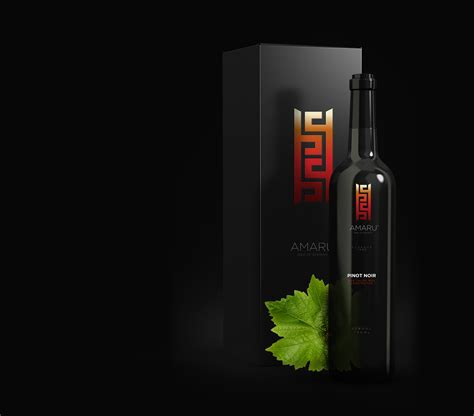 Amaru Wines (Concept) on Packaging of the World - Creative