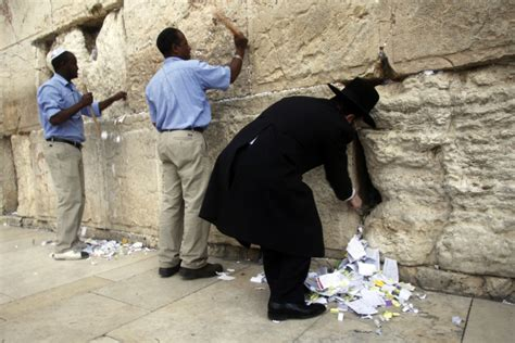 Purging prayers from the Wall | The Times of Israel