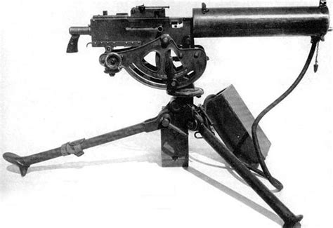 Browning M1917 (Model 1917) Belt-Fed, Water-Cooled Heavy