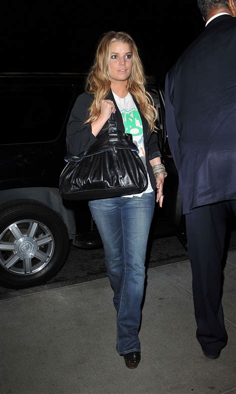 Pictures of Jessica Simpson in a New Kids On The Block T