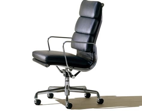 Eames® Soft Pad Group Executive Chair - hivemodern