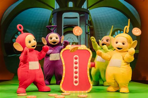 You can see the Teletubbies live on stage in St Helens in