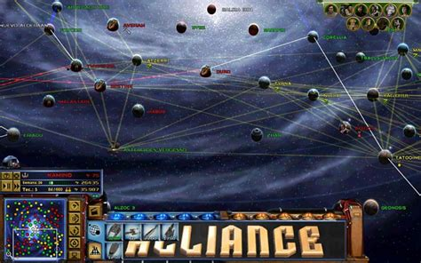 New galactic map planets image - FOC Alliance-Star Wars