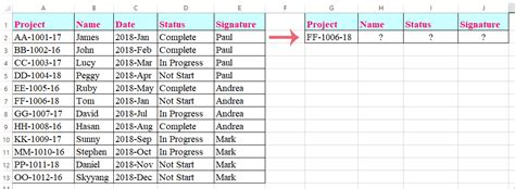 How to vlookup to return multiple columns from Excel table?