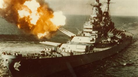 How WWII Battleship USS Missouri Became the First to Fight