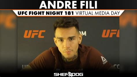Andre Fili UFC Fight Night 181 Virtual Media Day Interview