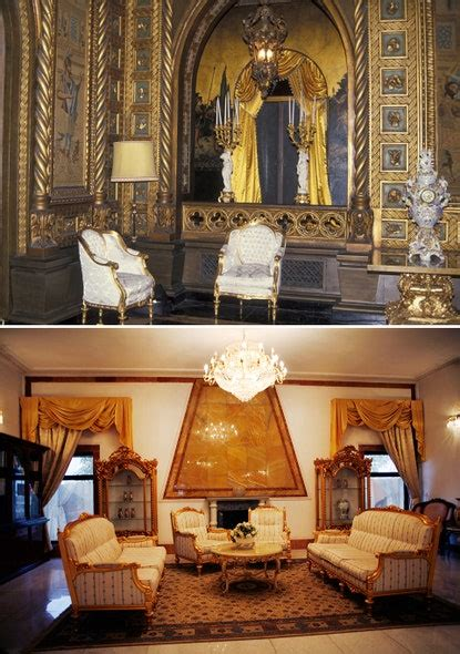 Donald Trump's Mansions and Saddam Hussein's Palaces Are