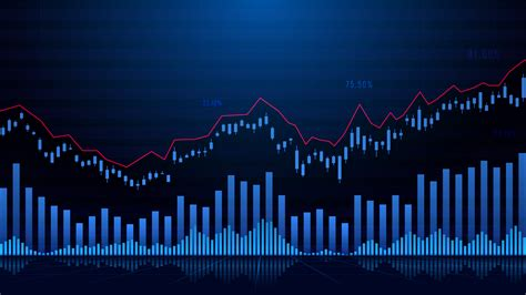 Stock market or forex trading graph - Download Free