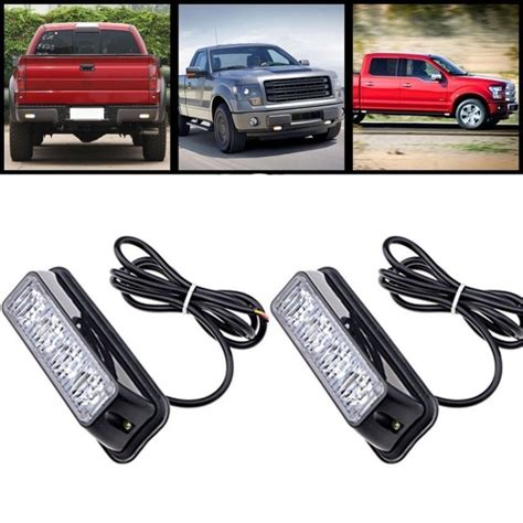 2X4LED 4 Watt Mini Compact side or Front rear surface