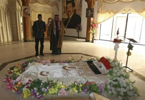 Saddam Hussein's tomb is among the collateral damage from
