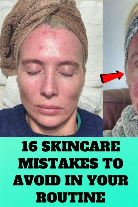 16 Skincare Mistakes To Avoid In Your Routine | Skin care