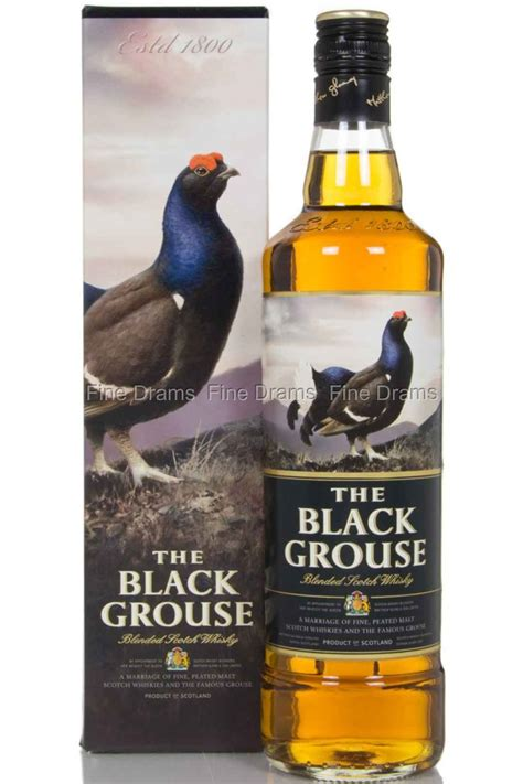 Famous Grouse The Black Grouse Whisky