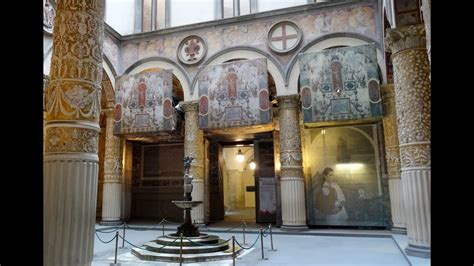 Palazzo Vecchio, First Courtyard, Florence, Tuscany