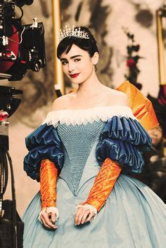 Lily Collins: Lily Collins as Snow White in Mirror Mirror