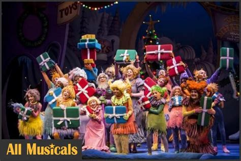 How the Grinch Stole Christmas Photos - Broadway musical