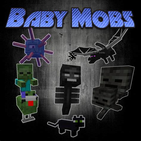 Overview - Baby Mobs - Mods - Projects - Minecraft CurseForge