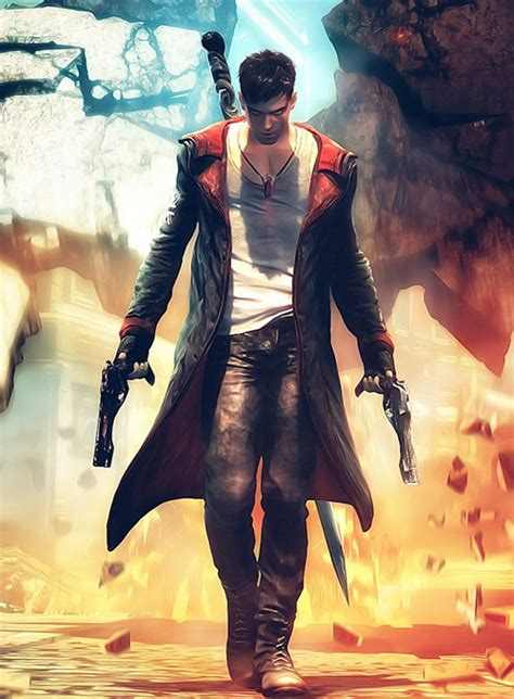 Devil May Cry 5 Dante Leather Coat : MakeYourOwnJeans