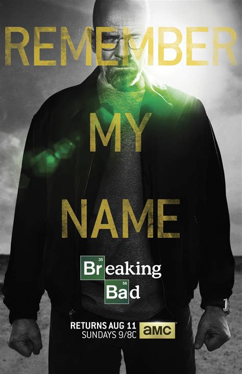 'Breaking Bad' Poster Features Walter White And 'Remember