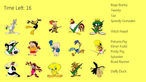 Looney Tunes Match Game for Windows 8 and 8