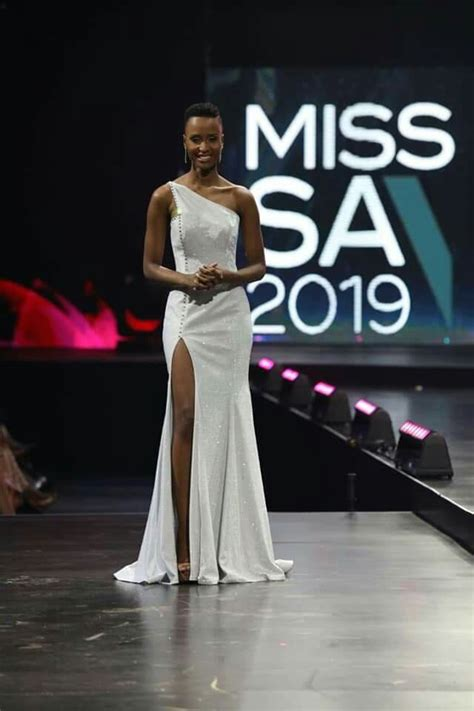 Miss South Africa 2019 is Zozibini Tunzi from Eastern Cape
