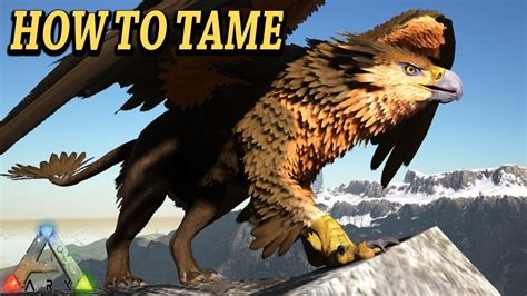 ARK GRIFFIN HOW TO TAME, ATTACKS, BREEDING & MORE!! Ark