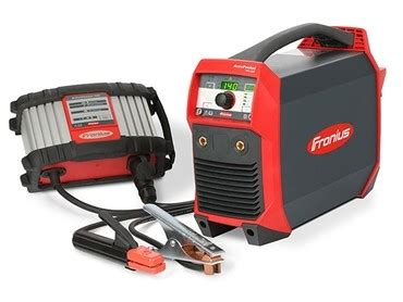 MMA mobile welder from Fronius has exceptional freedom of