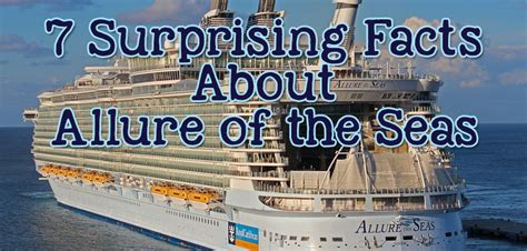 7 surprising facts about Royal Caribbean's Allure of the
