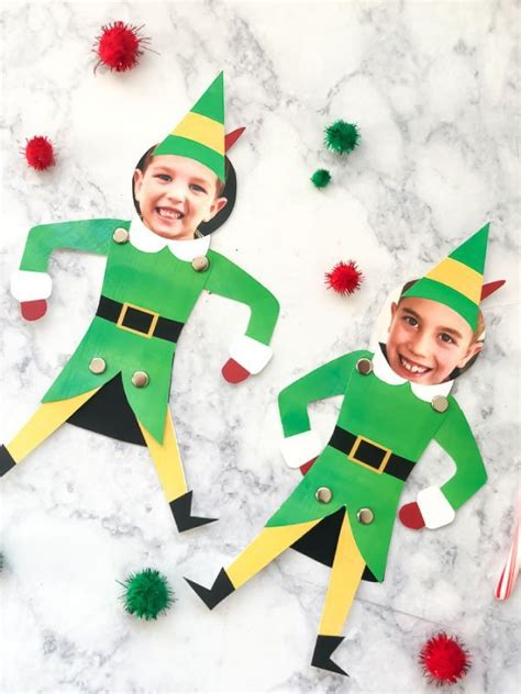 Free Printable Buddy The Elf Craft For Kids | Holiday