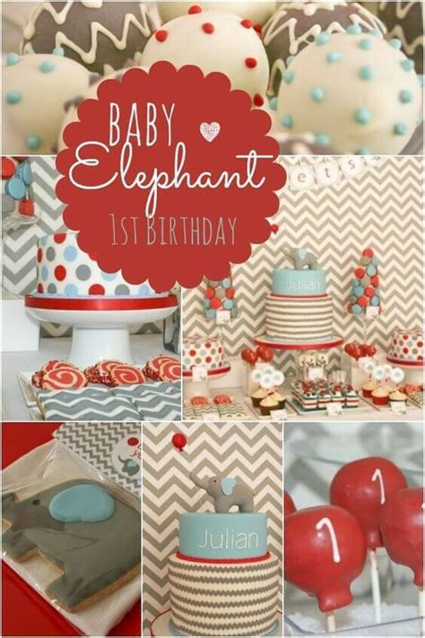 15 Creative Baby Elephant Party Ideas - Spaceships and