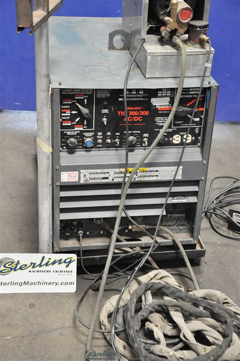 Used Lincoln IdealArc TIG Welder Sterling Machinery