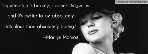 Marilyn Monroe Facebook covers Imperfection - We Need Fun