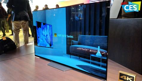 CES 2018: Sony announce A8F 4K OLED and X900F LCD TVs with