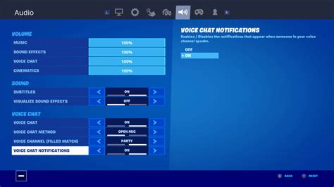 Fortnite Chat On Xbox One - Double Check Your Settings