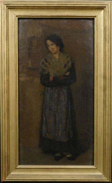 Rare oil painting by James McNeill Whistler with