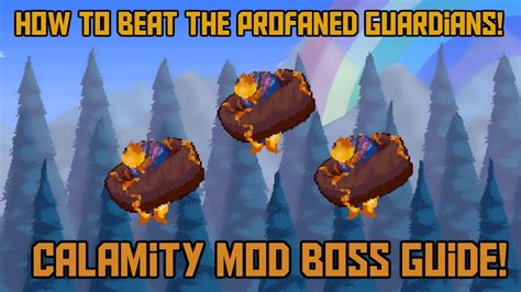 How to Beat the Profaned Guardians in Terraria! -Expert