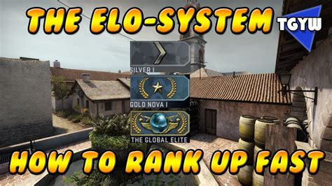 CS:GO - THE ELO-SYSTEM AND HOW TO RANK UP FAST! - YouTube