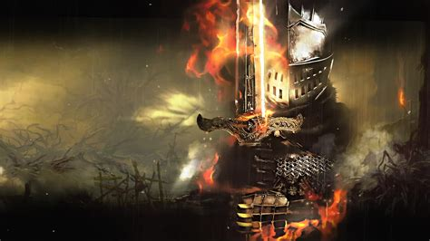 Dark Souls Armored Knight - Game Free Wallpaper - Live