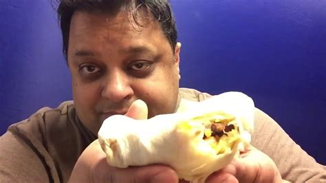 Burger King Egg-Normous Burrito review and eating show