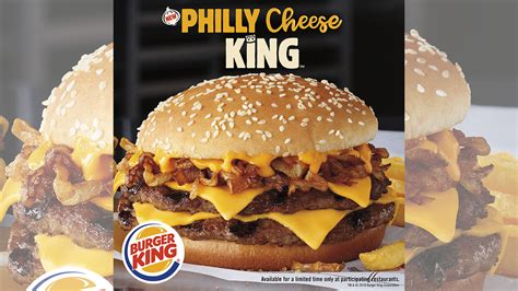 Burger King cooks up the Philly Cheese King - 6abc