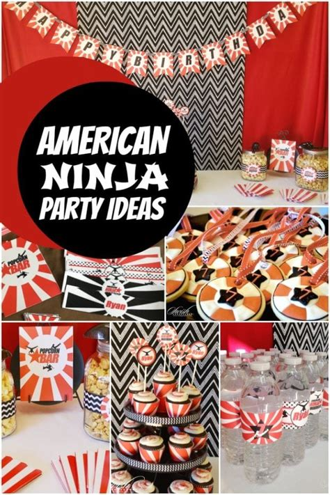 An American Ninja Warrior Birthday Party - Spaceships and